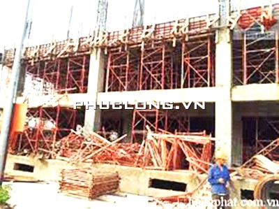 Công trình xây dựng không thể thiếu giàn giáo