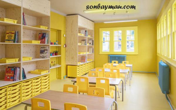 Màu sơn tường ảnh hưởng tới tâm lý trẻ nhỏ
